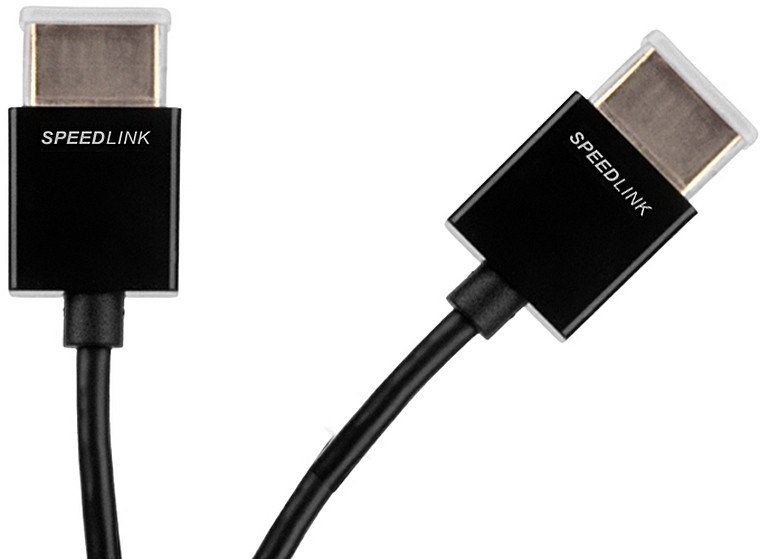 Video kabely + konektory FLEX-CS High Speed HDMI Cable - for PS3, black