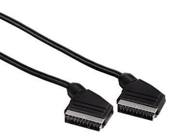 Video kabely + konektory Hama SCART kabel vidlice-vidlice, 21pól., 1,5 m