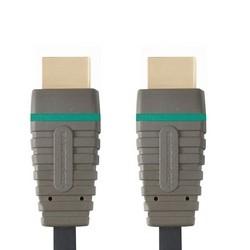 Video kabely + konektory HDMI/HDMI TV kabel Bandridge 1m