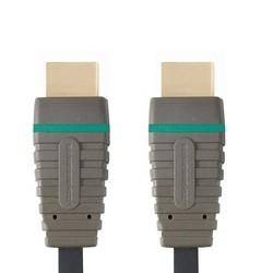 Video kabely + konektory HDMI/HDMI TV kabel Bandridge 2m