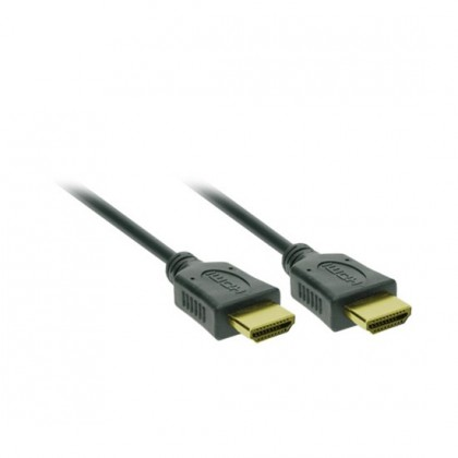 Video kabely + konektory HDMI/HDMI TV kabel Solight 2m