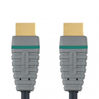 Video kabely + konektory HDMI kabel Bandridge, 5m