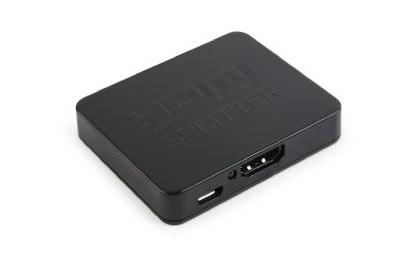 Video kabely + konektory HDMI splitter Gembird DSP-2PH4-03, 2 porty