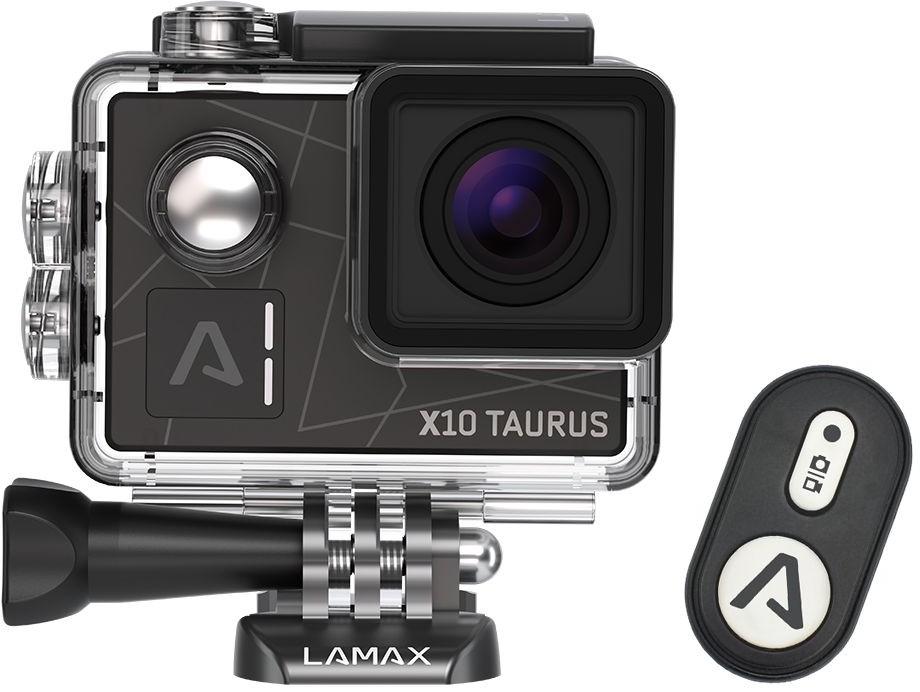 Videokamery Akční kamera Lamax X10 Taurus, 4K, záběr 170° + příslušenství