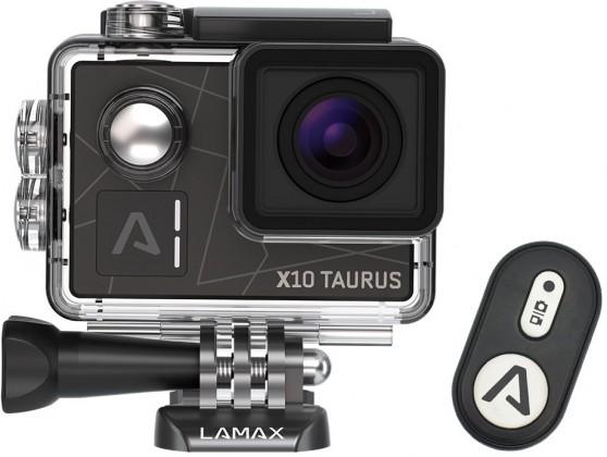 Videokamery Lamax X10 Taurus + 20 kusů příslušenství