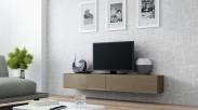 Vigo - TV komoda 180 (latte/latte lesk)