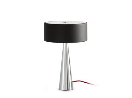 Vinil - Stolní lampa (černá)