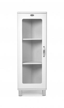 Vitrína Malibu - vitrína rohová, 1x dveře