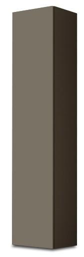 Vitrína Vigo - Vitrína závěsná 180, 1x dveře (latte/latte lesk)