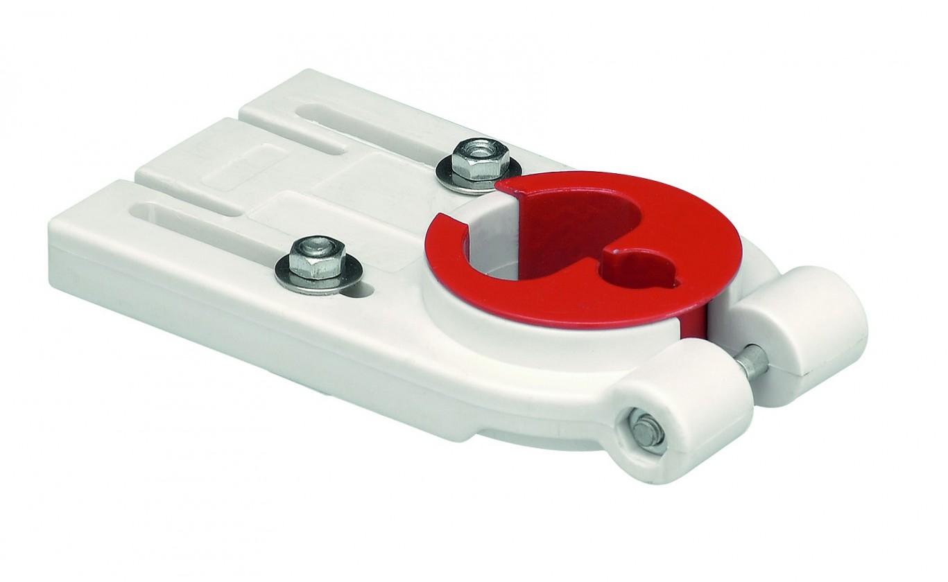 Vodovodní baterie Franke - zpevňující podložka pod baterii (bílá)