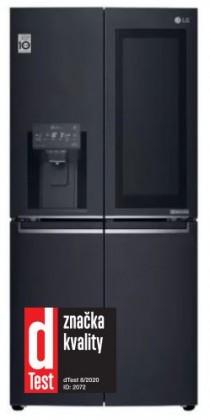 Volně stojící Americká chladnička LG GMX844MCKV