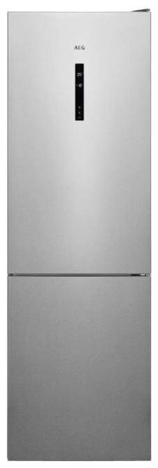 Volně stojící Kombinovaná lednice s mrazákem dole AEG Mastery RCB732E5MX,A++