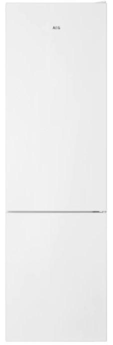 Volně stojící Kombinovaná lednice s mrazákem dole AEGmastery RCB636E4MW,A++ POU