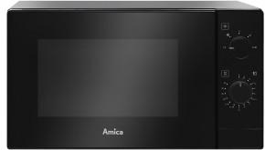 Volně stojící mikrovlnná trouba Amica AMMF20M1B, 700 W, černá