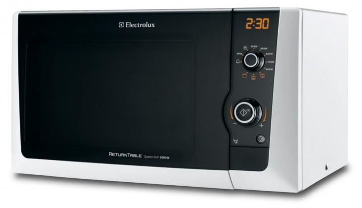 Volně stojící mikrovlnná trouba Electrolux EMS 21400 W