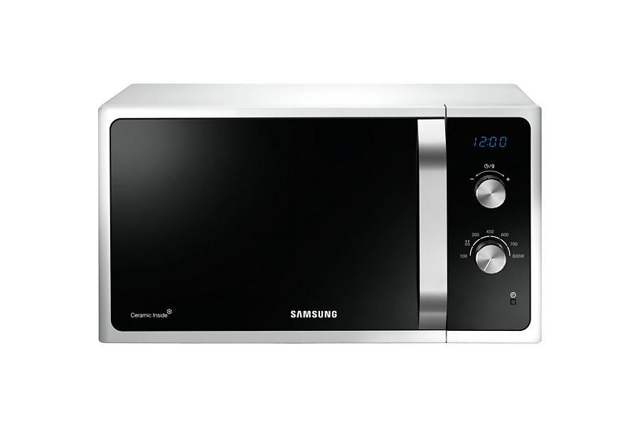 Volně stojící mikrovlnná trouba Samsung MS23F301EAW ROZBALENO