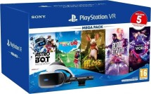VR V2 headset Sony PS4 + kamera + 5 her