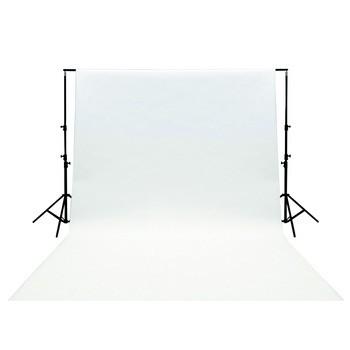Vybavení foto studií König foto pozadí 3x2m - bílé - KN-BD32W