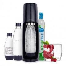 Výrobník sody SodaStream Spirit Mega Pack 1011713310, černý