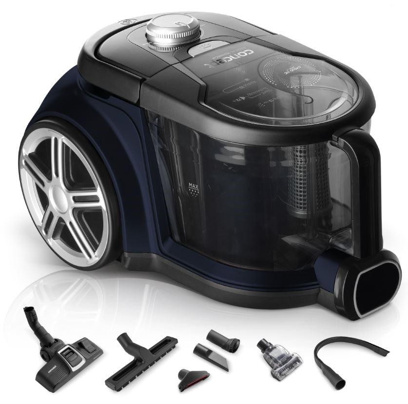 Vysavače na zvířecí chlupy Bezsáčkový vysavač Concept Radical Home&Car VP5241
