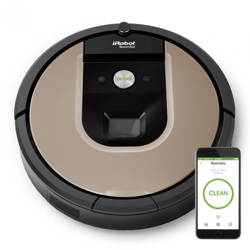 Vysavače na zvířecí chlupy Robotický vysavač iRobot Roomba 966, WiFi