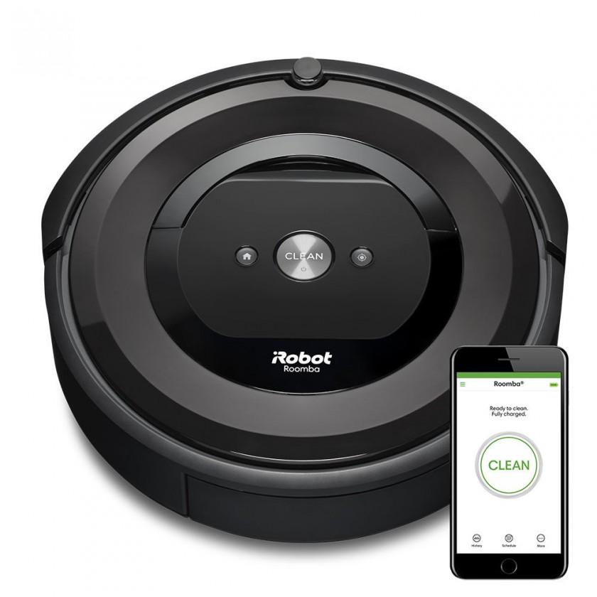 Vysavače na zvířecí chlupy Robotický vysavač iRobot Roomba E5 Black, WiFi