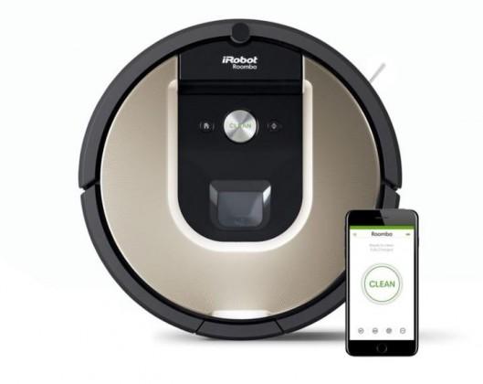Vysavače na zvířecí chlupy Robotický vysavač iRobot Roomba976