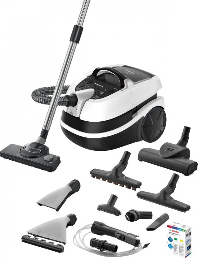 Vysavače na zvířecí chlupy Víceúčelový vysavač Bosch BWD421PRO Wet&Dry