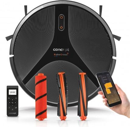 Vysavače pro alergiky Robotický vysavač Concept RoboCross Gyro VR2110, 2v1