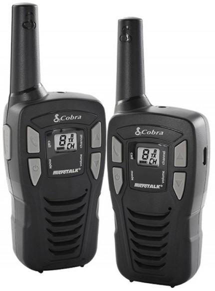 Vysílačka Cobra MT245VP - dva kusy (COBRA-MT245VP), max. dosah 5 km