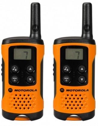 Vysílačka Motorola TLKR T41, oranžová