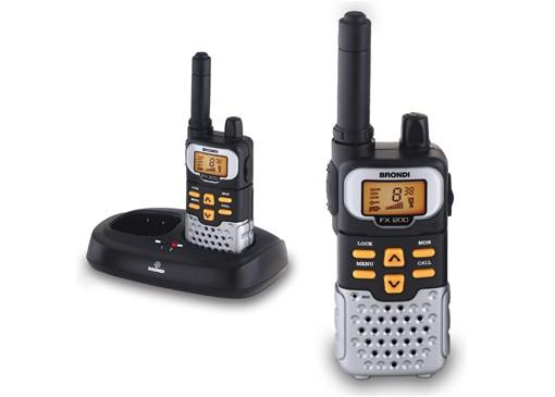 Vysílačky Brondi FX-200 TWIN,