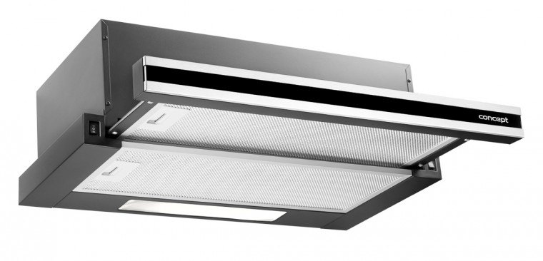 Výsuvný, výklopný odsavač par Vestavný odsavač Concept OPV3560