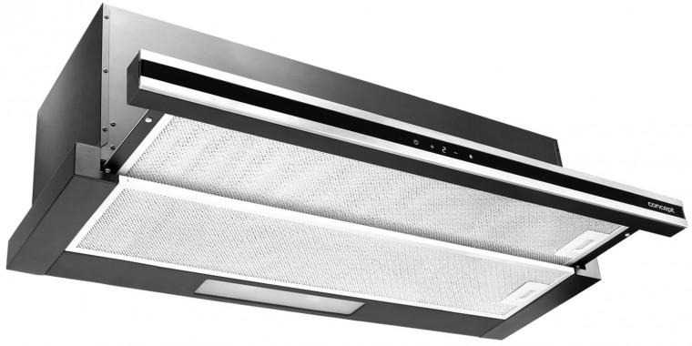 Výsuvný, výklopný odsavač par Výsuvný odsavač par Concept OPV3890, 90cm, A