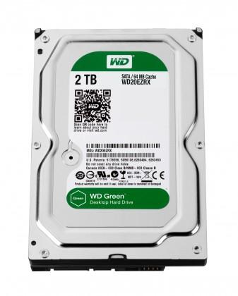 WD CAVIAR GREEN WD20EZRX 2TB SATA/600 64MB cache