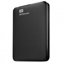 WD Elements Portable - 1,5TB, černá WDBU6Y0015BBK-EESN