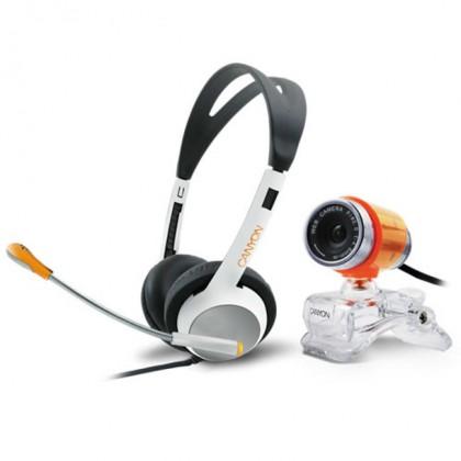 Webkamera Canyon ChatPack,webkamera + sluchátka