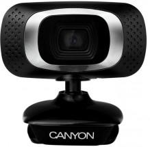Webkamera Canyon CNE-CWC3N, 720p, černá