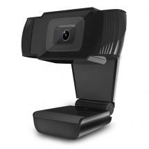 Webkamera Powerton HD PWCAM1, 720p, USB, černá