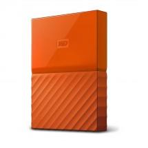 Western Digital My Passport, WDBYFT0020BOR, 2 TB, oranžová