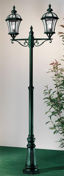 Westminster - E27, 100W, 80x230x80 (černo-zelená)