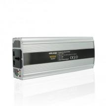 Whitenergy měnič napětí DC/AC 12V / 230V, 800W, USB 06585