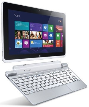 Windows tablet Acer Iconia Tab W511 (NT.L0NEC.001) stříbrný