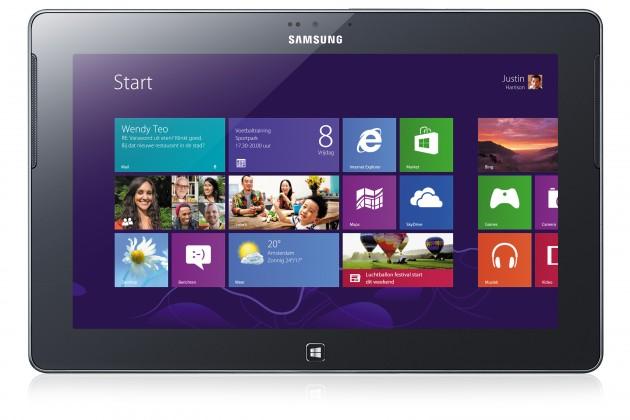 Windows tablet Samsung ATIV Tab (GT-P8510), stříbrný