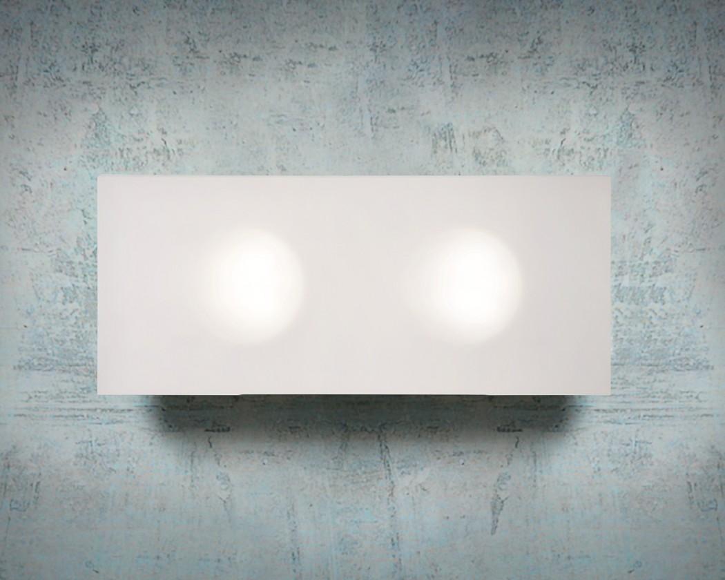 Winx - nástěnné osvětlení, 9W, 2xGX53 (matná)