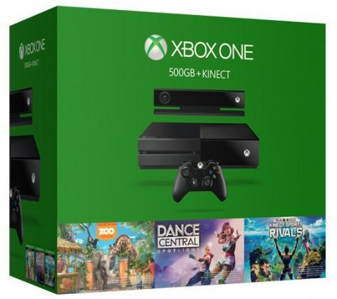 XBOX ONE 500GB Kinect + 3x hra