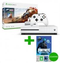 XBOX ONE S 1 TB + Forza Horizon 4 + Fortnite + Sluchátka HyperX Cloud Stinger Core v hodnotě 999,-Kč