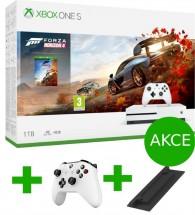 XBOX ONE S, 1TB, bílá + Forza Horizon 4 234-00561 + ovladač a stojan