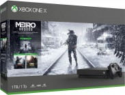 XBOX ONE X 1 TB + Metro Trilogy Bundle