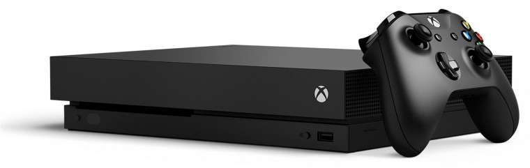 XBOX ONE X, 1TB, černá CYV-00010